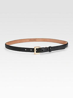 W. Kleinberg - Embossed Lizard Waist Belt