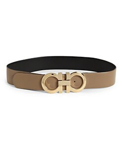 Salvatore Ferragamo - Gancini Leather Belt/ 2