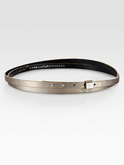 Diane von Furstenberg - Haley Double Wrap leather Belt