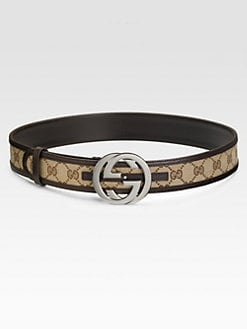 Gucci - Interlocking G Buckle Belt