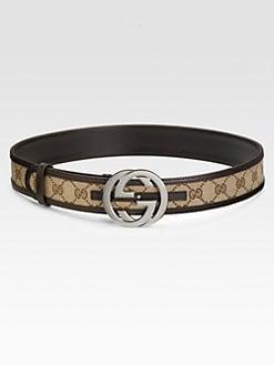 Gucci - Interlocking G Buckle Belt