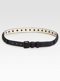 Cut 25 by Yigal Azrouel - Dome Trim Leather Belt