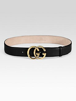 Gucci - Double G Buckle Belt