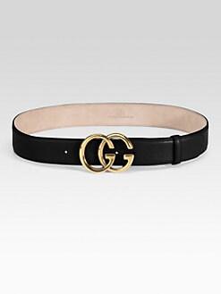 Gucci - Double G Buckle Belt