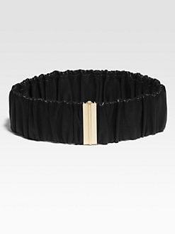 Diane von Furstenberg - Era Ruched Leather Belt