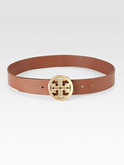 Tory Burch - Leather Signature Belt