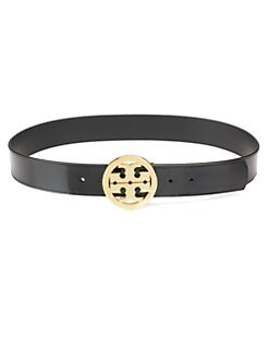 Tory Burch - Signature Patent Leather Belt