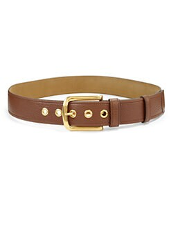 Prada - Classic Daino Leather Belt