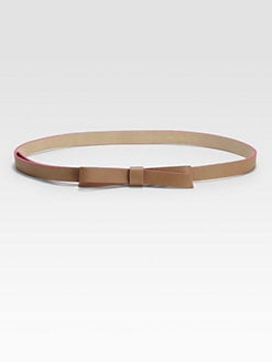 Kate Spade New York - Key Pieces Leather Bow Belt