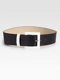 Kate Spade New York - Key Pieces Wide Leather Belt