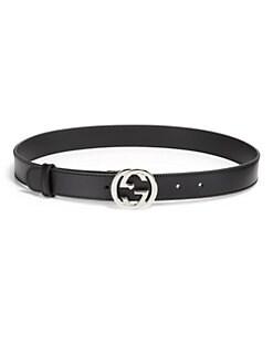 Gucci - Interlocking G Leather Belt