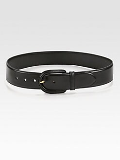 Prada - Madras Leather Belt