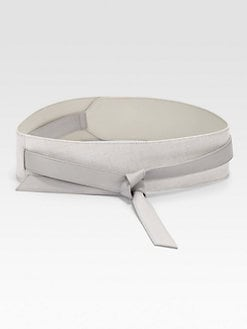 Diane von Furstenberg - Wide Leather Obi Wrap Belt
