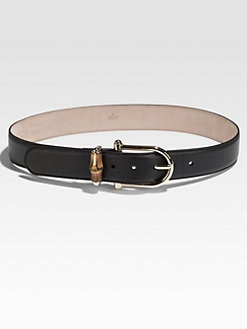 Gucci - Horse-Bit Bamboo Belt