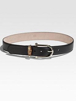 Gucci - Horse-Bit Bamboo Belt