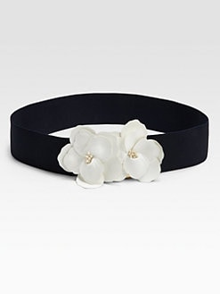 Kate Spade New York - Flower-Embellished Belt