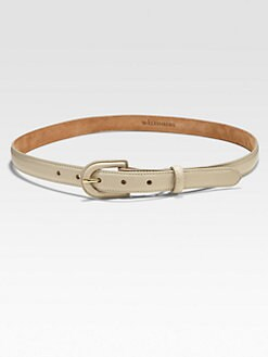 W. Kleinberg - Skinny Leather Belt