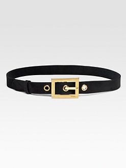 Gucci - Suede Belt