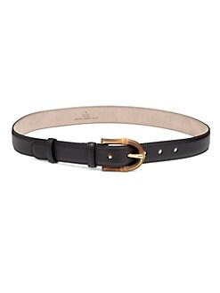 Gucci - Bamboo Buckle Belt