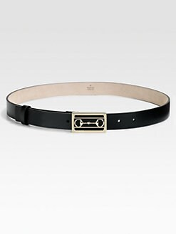 Gucci - Selleria Horsebit Buckle Belt