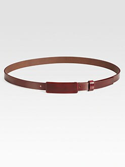 Maison Martin Margiela - Leather Skinny Belt