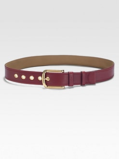 Prada - Daino Leather Belt
