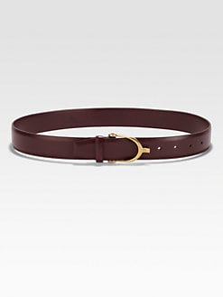 Gucci - Calfskin Belt