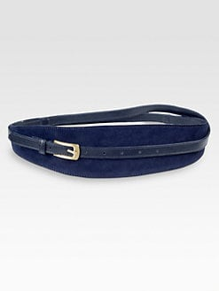 Diane von Furstenberg - Connor Suede Belt