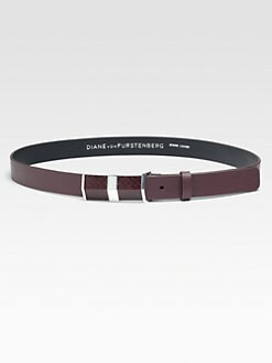 Diane von Furstenberg - Tava Leather & Rattlesnake Belt