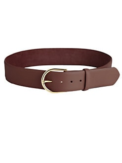 W. Kleinberg - Nubuck Leather Belt