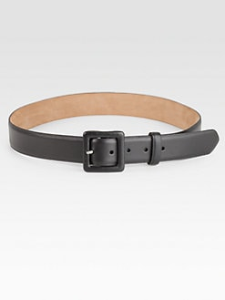 W. Kleinberg - Pearlized Embossed Medium Leather Belt