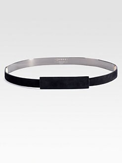 Maison Martin Margiela - Metal Accented Leather Belt