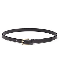 Prada - Saffiano Leather Narrow Belt