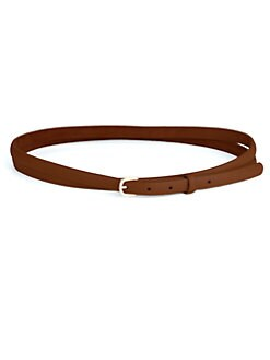 W. Kleinberg - Double-Wrap Leather Belt