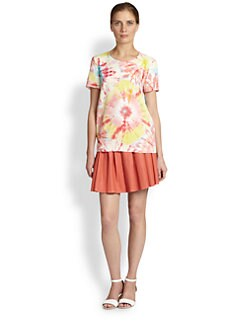 Moschino Cheap And Chic - Tie-Dye Print Top