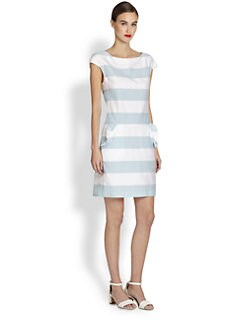 Moschino Cheap And Chic - Striped Shift Dress