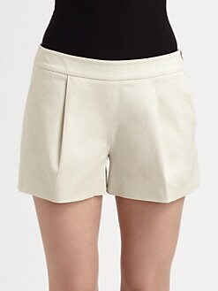 Moschino Cheap And Chic - Front Pleat Shorts