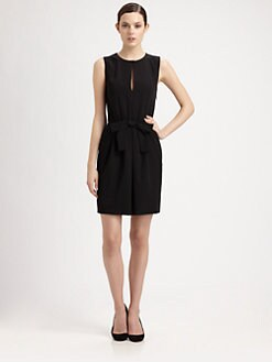 Moschino Cheap And Chic - Bow-Front Dress