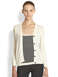 Moschino Cheap And Chic - Illusion Cardigan Top