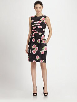 Moschino Cheap And Chic - Rose Print Dress