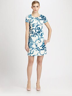 Moschino Cheap And Chic - Pottery Print Dress