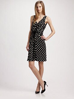 Moschino Cheap And Chic - Polka Dot Jersey Dress
