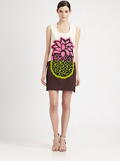 Moschino Cheap And Chic - Pineapple Print Dress