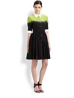 Moschino Cheap And Chic - Degradé Shirtdress