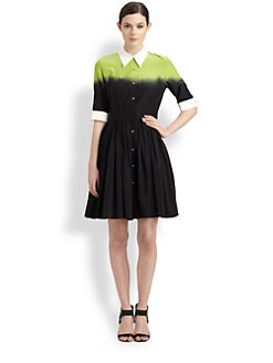 Moschino Cheap And Chic - Degrad&eacute; Shirtdress