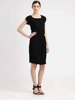 Moschino Cheap And Chic - Blouson Crepe Dress