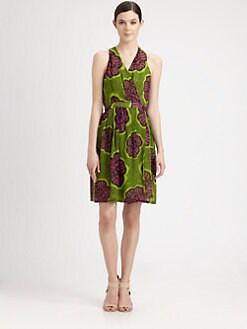 Moschino Cheap And Chic - Floral Halter Wrap Dress