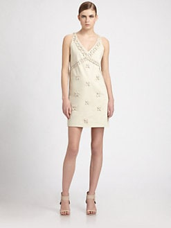 Moschino Cheap And Chic - Embroidered Seashell Dress
