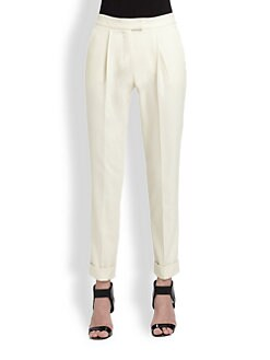 Moschino Cheap And Chic - Cuffed Ankle Pants