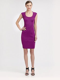 Moschino Cheap And Chic - Stretch Jersey Bodycon Dress